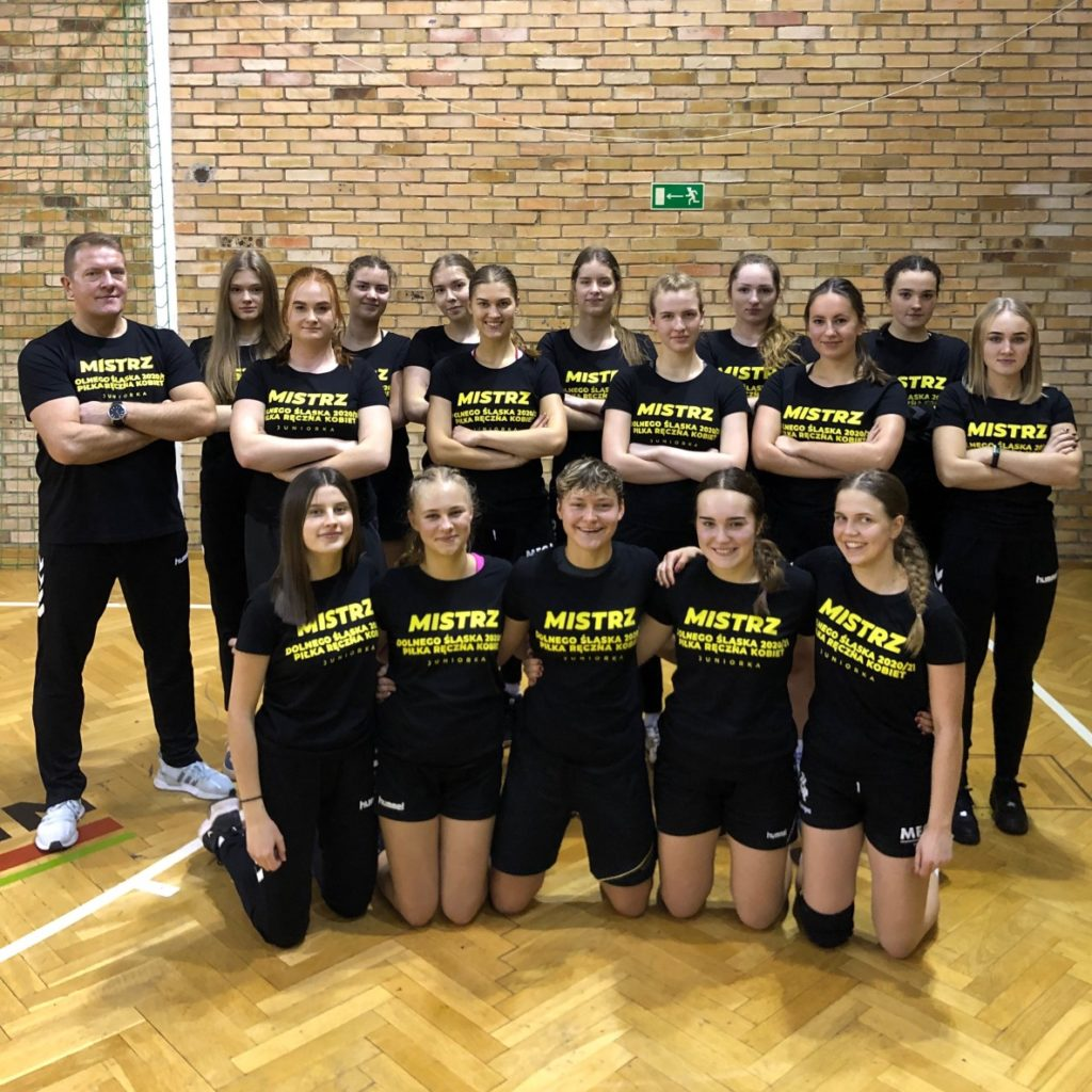 Juniorki Dziewiątki zostały Mistrzyniami Dolnego Śląska