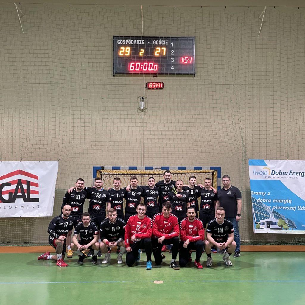Zwyciężamy w pierwszym meczu II rundy II Ligi mężczyzn